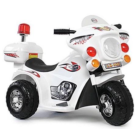 Polizei Kindermotorrad
